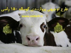طرح توجیهی پرواربندی گوساله 150 راسی سال 97 صنعتی