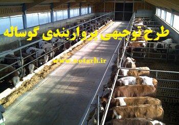 دانلود طرح توجیهی پرواربندی گوساله 500 راسی صنعتی